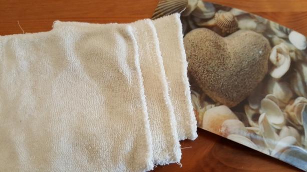 Waschbare Baumwollpads statt Wattepads