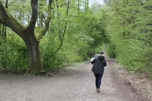 Wir freuen uns auf einen Nachmittag im Wald..