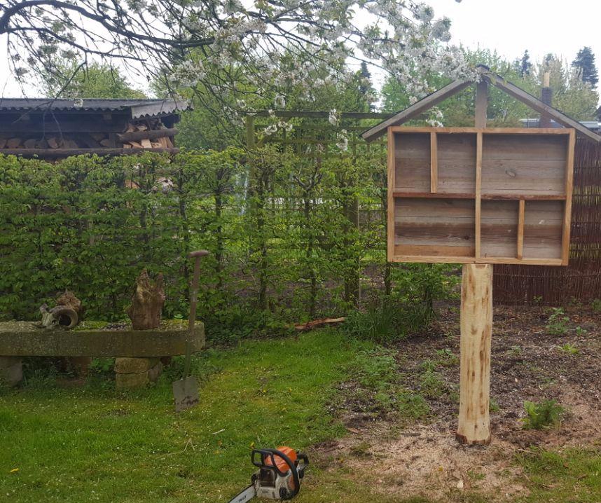 Wir bauen ein Insektenhotel – Teil1
