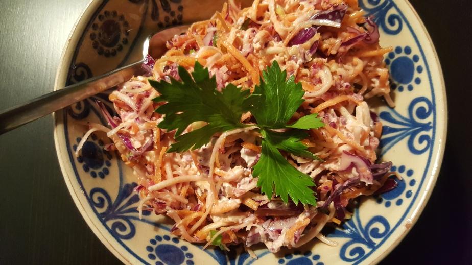 Mein Soul Food:Rohkost-Salat