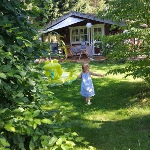 Unser Garten ist unser Bullerbü.