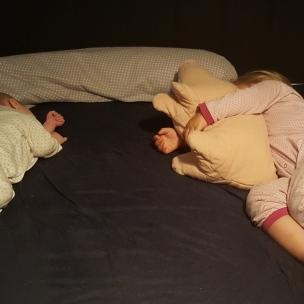 Nach unseren Entdeckungen sind die Kinder am Abend oft hundemüde - und wir alle glücklich!