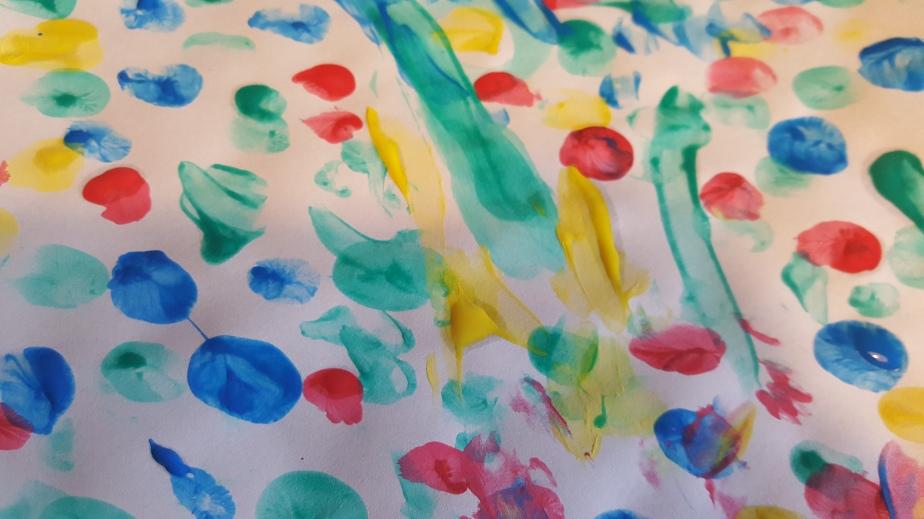 Farbspiel: Kreativ-Pause
